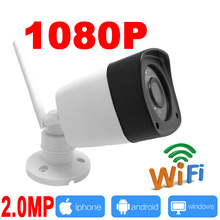 ip camera wifi 1080P outdoor cctv surveillance system wireless Waterproof security cam mini ipcam infrared home wi-fi JIENU(China)