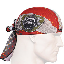 New Fashion Men's Multi-functional Headwear 3D Prints Outdoor Exercise Head Scarf Breathable Elastic Headbands
