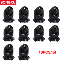 SONGXU 10pcs/lot 150W LED Spot Moving Head Light Professional moving head spot head Party Light stage equipment/SX-MH150A(China)