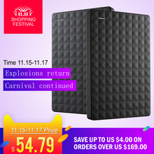 "RU Stock Seagate Expansion HDD Drive Disk 4TB/2TB/1TB/500GB USB 3.0 2.5"" Portable External Hard Drive HDD 1TB for Desktop Laptop(China)"