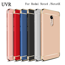 UVR For Xiaomi RedMi Note 4 Case 3 IN 1 Shockproof Frosted Shield Hard Back Cases For Xiaomi Redmi Note 4X Cover Note4 X