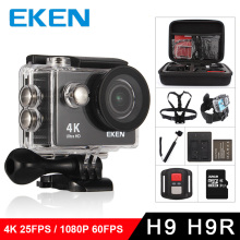 "EKEN H9R/H9 Action Kamera Ultra HD 4 karat/25fps WiFi 2,0 ""170D Unterwasser Wasserdichte Helm Video aufnahme Kameras Sport Cam(China)"