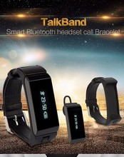 Fitness tracker K2 Bluetooth smart talkband bracelet with vibration alert for HTC LG Samsung Iphone