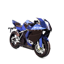 Colorized MOTORCYCLE 1 model kit laser cutting 3D puzzle DIY metal Piececool model jigsaw best gift for kids educational toys