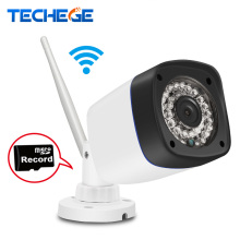 Techege 720P/960P WIFI IP Camera HD 1.0MP/1.3MP wifi camera Night Vision Outdoor w TF Card Slot CCTV Camera Motion Detection