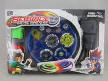 Beyblade Metal Fusion Set  4pcs Beyblades With Launchers Beyblade Arena Constellation Spinning Top S40