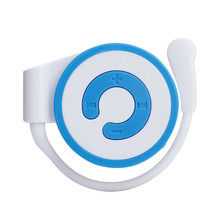 MOSUNX Mini MP3 Player Worn On The Ear Music Media Player USB Support TF Card Futural Digital F20