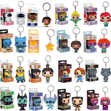FUNKO POP Keychain Point De Chuckie BOB Ross Cheshire chucky Minions tinker bell action Figure Collection jouets pour enfants cadeau(China)