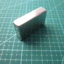 Free Shipping Super Strong N35 40 x 25 x 10mm Cuboid Block Craft Rare Earth Permanet Powerful Neodymium Cube Magnets 40*25*10