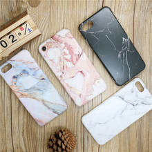 Mobile Phone Bags & Case For iphone 6 7 6S 6Plus 7Plus Capa New Phone Cases Protect Cover Marble Stone image Thin Coque housing