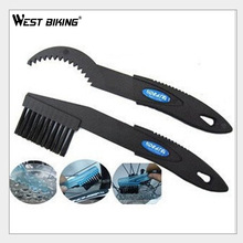 WEST BIKING Cycling Repair Machine Brushes Wash Tool Set MTB Cleaning Tool Kits Bicycle Chain Cleaner Pair Flywheel Brush