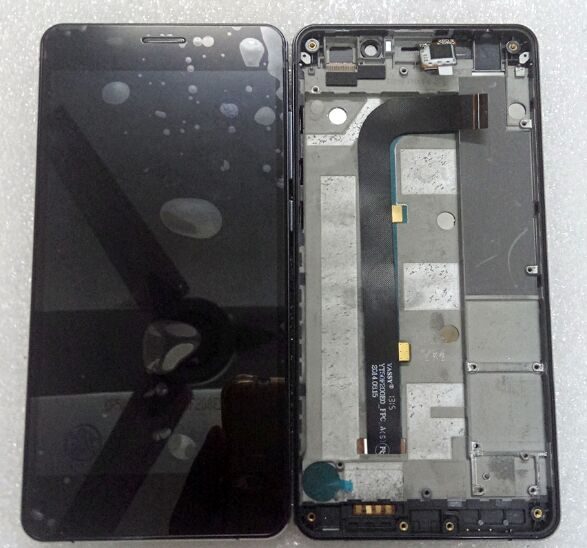 Black For Innjoo One 3G 4G HD LTE LCD Display With Touch Screen Digitizer Assembly<br>