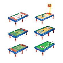 6 In 1 Game Pool Hockey Basketball Golf Table Indoor Childrens Toy Gift Set Top