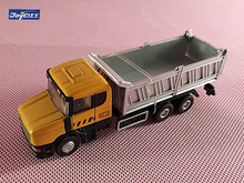Brand New JOYCITY 1/72 Scale Sweden SCANIA MX-1 Dump Truck Diecast Metal Car Model Toy For Gift/Kids/Collection/Decoration