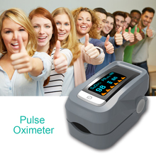 Original Truscend Portable Finger Pulse Oximeter with OLED Display Oximetro for Testing Blood Oxygen Saturation Monitor SpO2