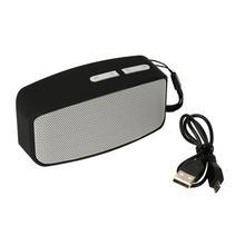 Portable MP3 Player Mini Digital Micro SD TF USB Mini Stereo Bass Speaker Music FM Speaker Smartphone Tablet Laptop 23Apr 18