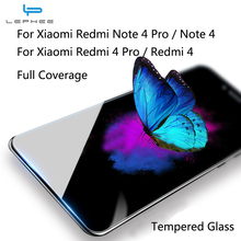 LEPHEE Xiaomi Redmi Note 4 4X Tempered Glass Pro Screen Protector Xiomi Note4 Redmi4 Film - Globle Store store
