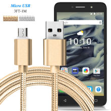 1M Micro USB Sync & Fast Charger Cable for Alcatel iDOL 4/4s, Go Play, POP UP 4S/4/3, PIXI 4/First/3, Data Sync Charging Cable
