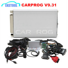 Latest Rleased V9.31 CARPROG Auto ECU Repair Interface 21 Full AdaptersCar Prog Car Radio Odometer Dashboards Immobilizer