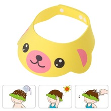 Adjustable Baby Shower Cap Baby Adjust Shampoo Shower Bathing Bath Protect Soft Cap Baby Shower Accessory
