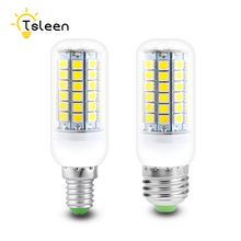TSLEEN 10PCS SMD 5050 Lampada LED Lamp E27 G9 Corn Light E14 B22 High Luminous LED Bulbs 220V Candle Luz 9W 11W 12W 13W 15W(China)