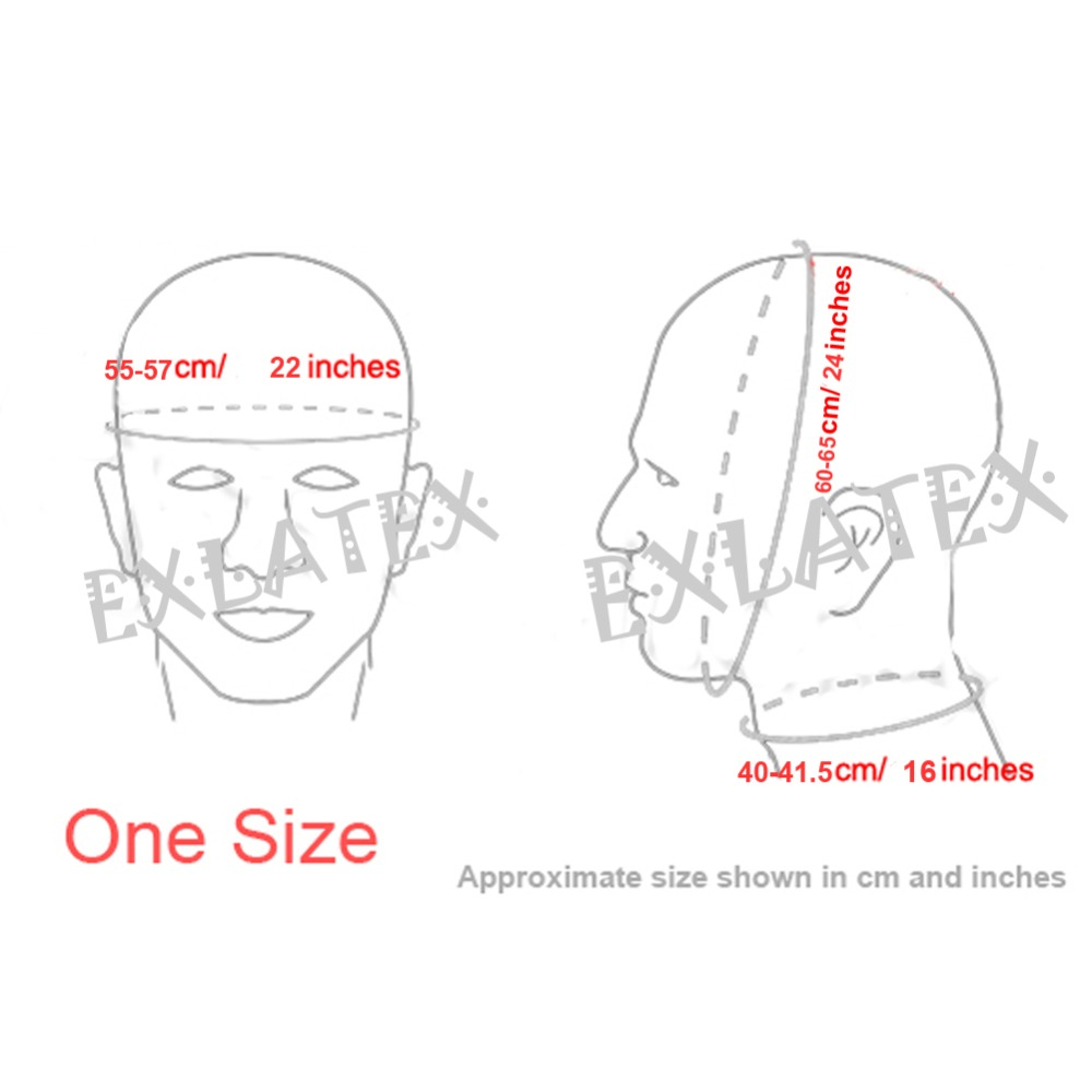 Latex Hood Adult Deadpool Mask Latex Rubber Anatomical Mask Seamless sm Asphyxia Mask Without Any Holes Fetish Mask 0.6mm (1)