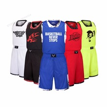 Adsmoney Men/Women basketball jersey sets shirt short College Team Training pants Suit DIY Custom Name Number double pocket(China)