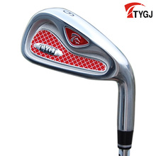 Brand TTYGJ. Single 6 IRON Regular Flex for beginner. 6iron golf club steel shaft. golf club #6 steel golf 6(China)
