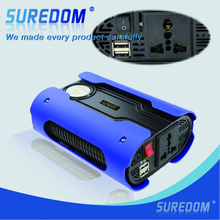 Single Output type Dc12v To Ac 220v 500w Peak 1000w  pure sine wave Car Power Inverter  With Usb Port  New Faction Style