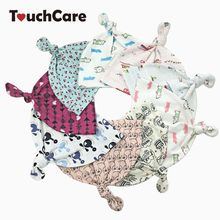 TouchCare Self-designed Spring Autumn 100% Cotton Knitted Baby Boy Girl Hats Character Printing Baby Cap Infant Hat