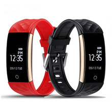 S2 Bluetooth Smart Band Wristband Heart Rate Monitor IP67 Waterproof Smartband Bracelet fitness tracker for Android IOS  SH015