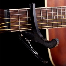 Hot Sale Electric Classic Guitar Quick Change Tune Clamp Key Trigger Cap Clip For Acoustic EJ670774 Free Shipping&Wholesales(China)