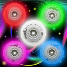 90A F1 Wear-resistant models / roller wheels/ roller skating flash wheel / roller skating light Northern Lights upgraded version