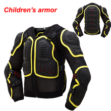 Children Motorcycle Motocross Armour Full Protector Gears Bicycle DH AM ENDURO BMX Protective Kids Body Armor(China)