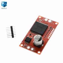 1pcs 30A Mini VNH2SP30 Stepper Motor Driver Monster Moto Shield module For Arduino(China)