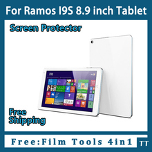 "3 pieces/lot HD Screen protector for Ramos I9s 8.9""Tablet,Ramos i9s Protective Film Free Shipping+4 in1 Film Tools"