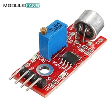 1pc Sensitive Microphone Sound Sensor Detection Module For Arduino AVR PIC 5V DC Power Supply