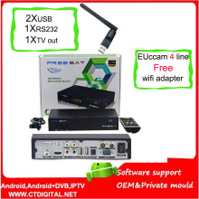 FREESAT V7 Max  wifi hd receptor Satellite Receiver 1080P FULL HD DVB-S2 Decoder Support  YouTube freesat v7 max Powervu