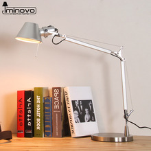 IMINOVO Novelty Folding Table Lamp LED Desk Lamps Bedroom Silver Table Lamp 5W Creative Home Decor Gift For Children Bedroom(China)