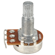 5pcs! 24mm Long Split Shaft Audio Tone Potentiometer for Electric Guitar / Bass Musical Instruments Parts & Accessories