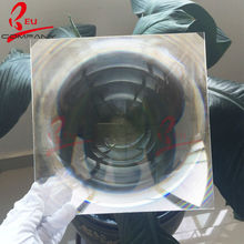 330*330mmF350mm Big size acrylic Solar Concentrator Fresnel Lens(China)