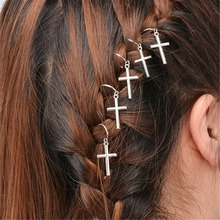 Fashion Vintage Hair pin Hair Clip Charm Leaf Star Shell Cross Fatima Hand Tassel Hair Band Hair Wear Head Pieces Boho Hair Ring