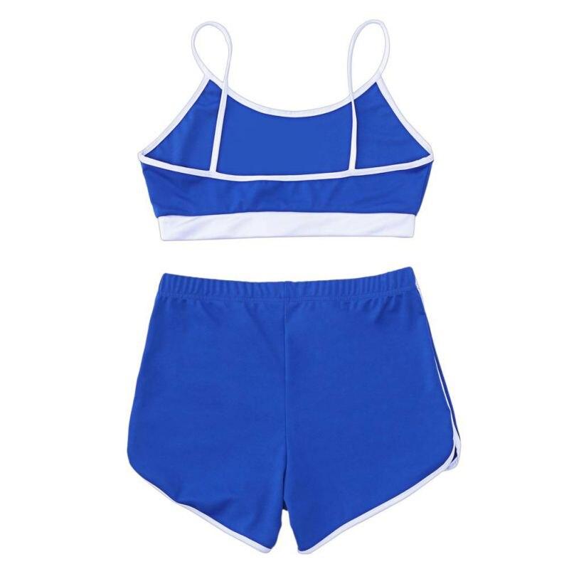 Sport Suit Tracksuit Bra+Short Sportswear 13