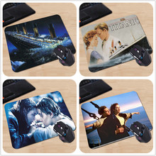 Famous Classic Film Titanic Sink Cruises Rose Jack Personalized Mouse Mat Durable Rubber Computer Make Your Own Cool Mouse Pad