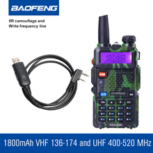 BAOFENG UV-5R Camouflage VHF UHF Walkie Talkie Handheld Radio BF uv5r Radio Communicator Portable HF Transceiver Ham Radio(China)