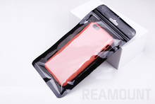 500 pcs  Zipper Plastic Retail Packaging for iphone 7 7 Plus for  HUAWEI XIAOMI phone case  Electronic accessories