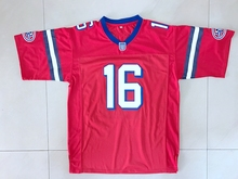 The Replacements Movie Shane Falco #16 American Football Jersey All stitched Red(China)