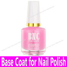 1 bottle Nail Art Base Oil with Brush Base Coat for Common Nail Polishes China Cheap Brand Glass Bottle Pink Calcium Bottom Oil(China)