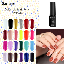 Sarness 7ml Nails Color Gel Polish LED UV Lamp Gel Varnish Professional Glitter Nail Gel Polish Vernis Semi Permanent