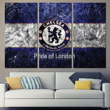 3 Panels Canvas Art Chelsea Pride Of London Home Decor Wall Art Painting Canvas Prints Pictures for Living Room Poster XA1169C
